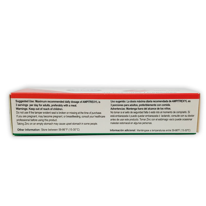 ProMex Ampitrexyl Natural Immune Support 500 mg, 30 Caps.
