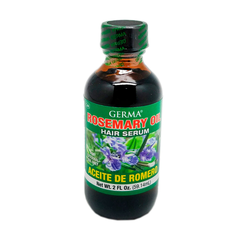Germa Rosemary Oil, Anti-Aging/Aceite de Romero, Rejuvenecedor - 2 Oz