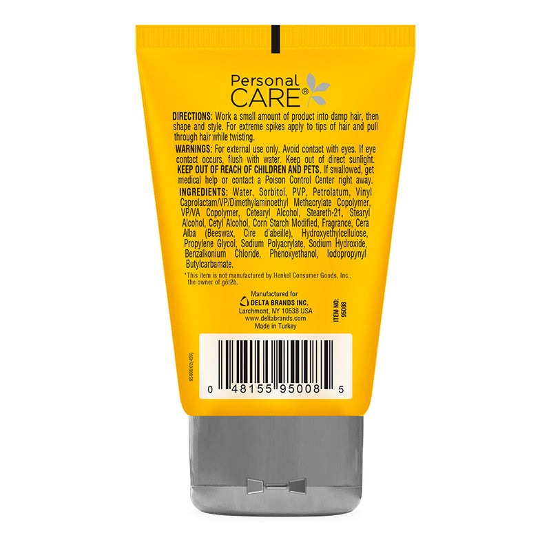 Personal Care Hair Spiking Glue - Mega Hold 4 Oz