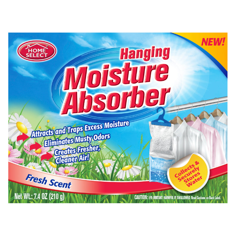 Home Select Moisture Absorber - Hanging - Fresh Scent 7.4 Oz.