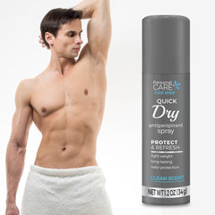 Personal Care Antiperspirant Spray - Men's Clean Scent 1.2 oz