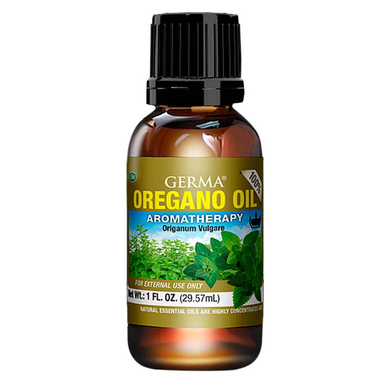Germa Natural Oregano Oil Expectorant/Aceite de Oregano Natural Expectorante 1oz
