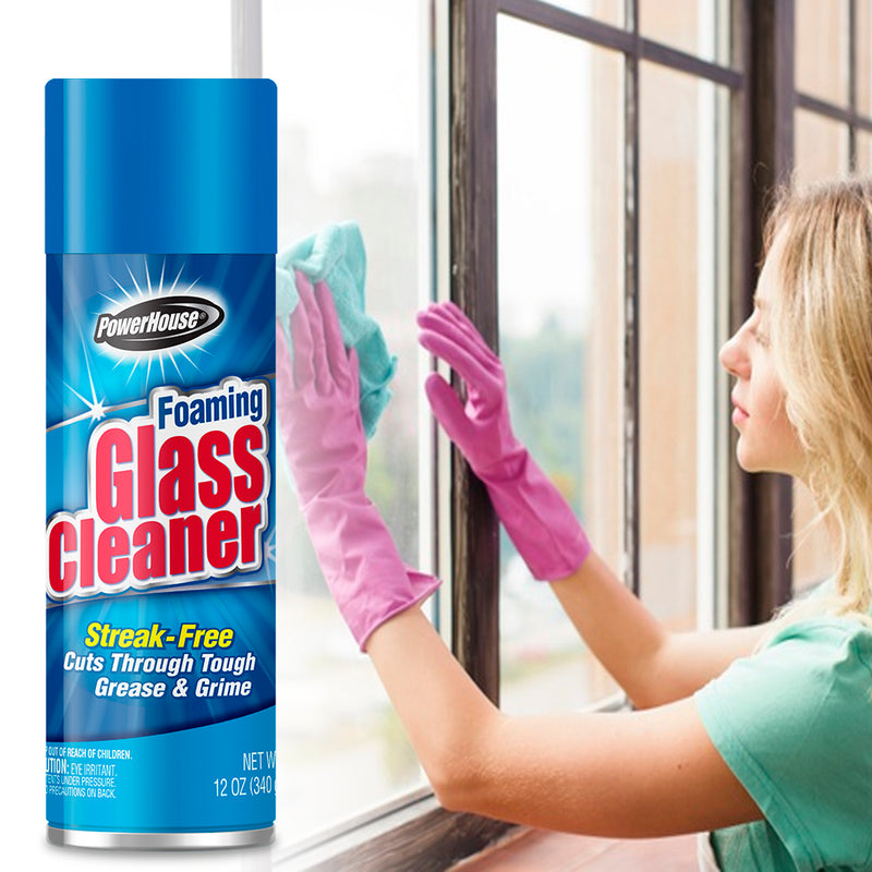 PowerHouse Aerosol Cleaner - Foaming Glass 12 oz.