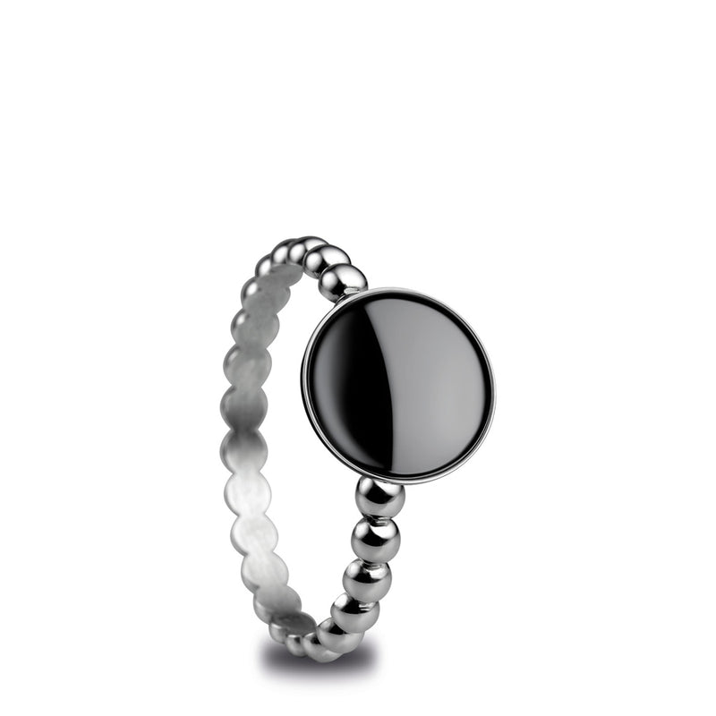 Bering Artic Symphony Collection US 11 Size Inner Ring, Silver 572-16-71