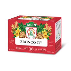 Tadin Tea Bronco Té / Bronco Tea. 24 Bags. 1.01 Oz