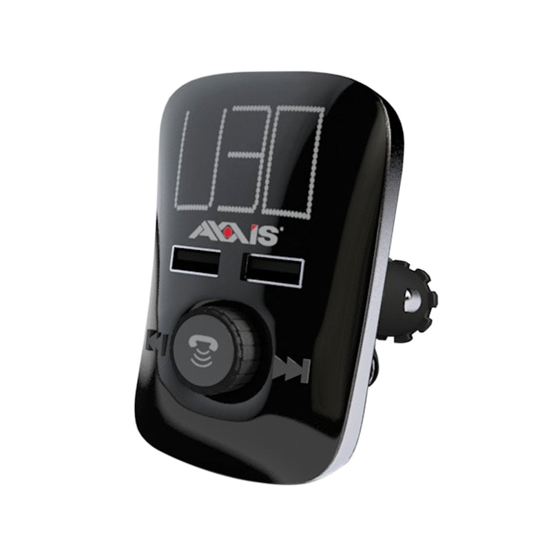 Axxis Car Charger USB 2.5A + Adapter Wireless FM
