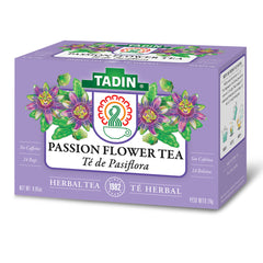 Tadin Tea Pasiflora / Passion Flower. 24 Bags. 0.84 Oz