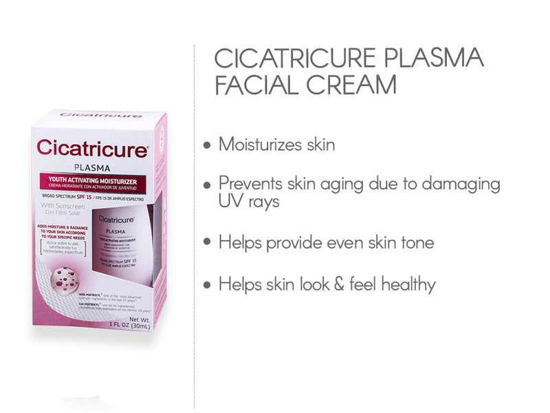 Cicatricure Plasma Facial Cream1 OZ