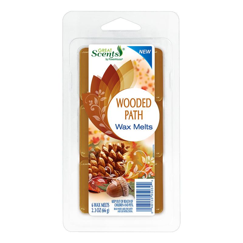 Great Scents Wax Melt - Wooded Path 6 Ct.