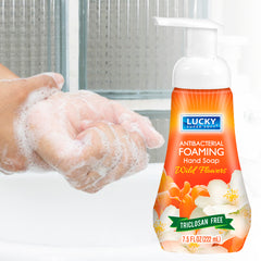 Lucky Super Soft Foaming Soap - Antibac Wild Flowers 7.5 oz
