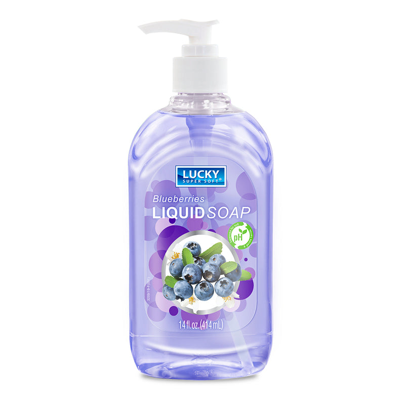 Lucky Super Soft Soap - Blueberries 14 fl.oz.