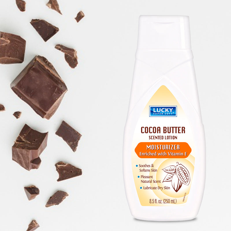 Lucky Super Soft Lotion - Cocoa Butter 8.5 Fl.Oz.