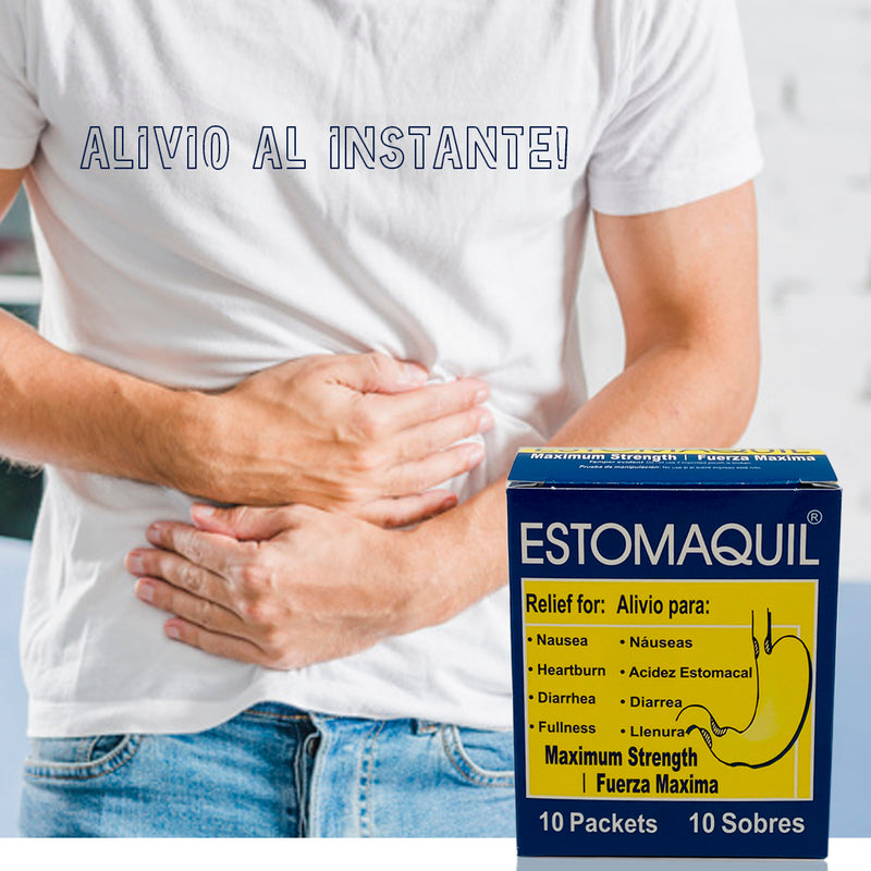 Estomaquil Stomach Relief, 10 Count