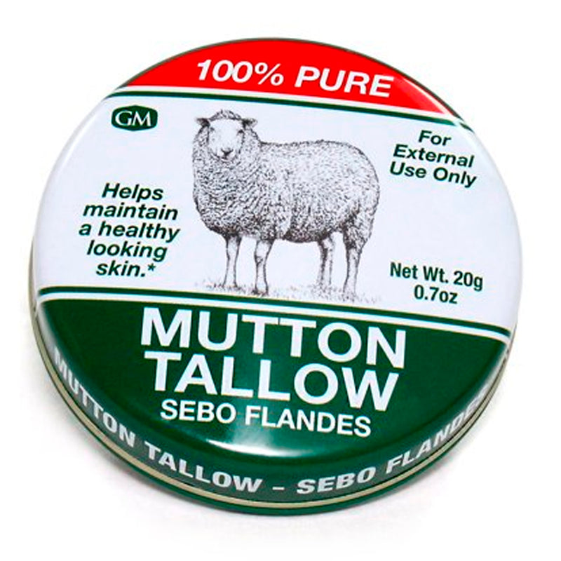 Germa Natural Mutton Tallow, 100% Pure / Sebo Flandes Natural, 100% Puro