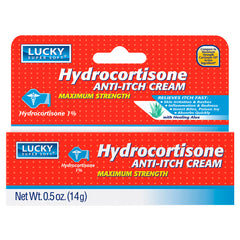 Lucky Super Soft Hydrocortisone Anti-Itch Creme 0.5 Oz.