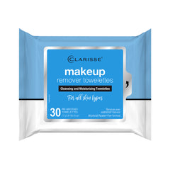 Clarisse Make-up Remover Towelettes in PDQ 30 ct.