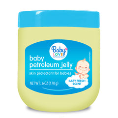 Baby Love Petroleum Jelly - Baby Scent - Blue 6 Oz.