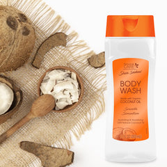Shea Solutions Body Wash - Organic Coconut Oil12 Oz.