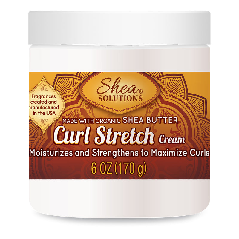 Shea Solutions Curl Stretch Cream 6 Oz.