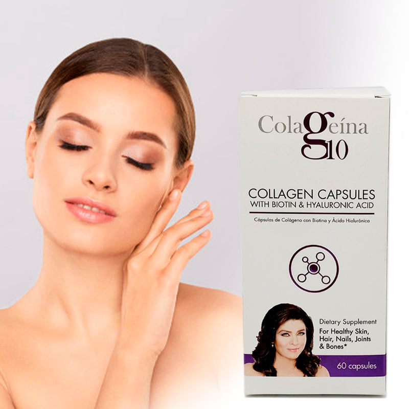 Colageina Capsules New Formula With Hyaluronic Acid