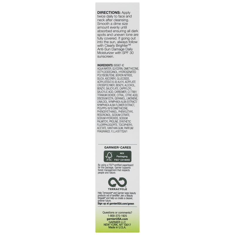 Garnier SkinActive Clearly Brighter Dark Spot Corrector , 1 fl. oz.
