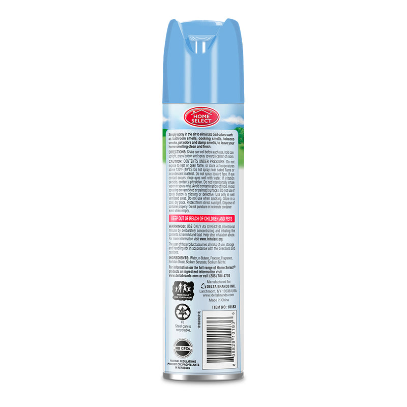 Home Select Aerosol Odor Neutralizer - Fresh Linen 10 Fl.Oz.