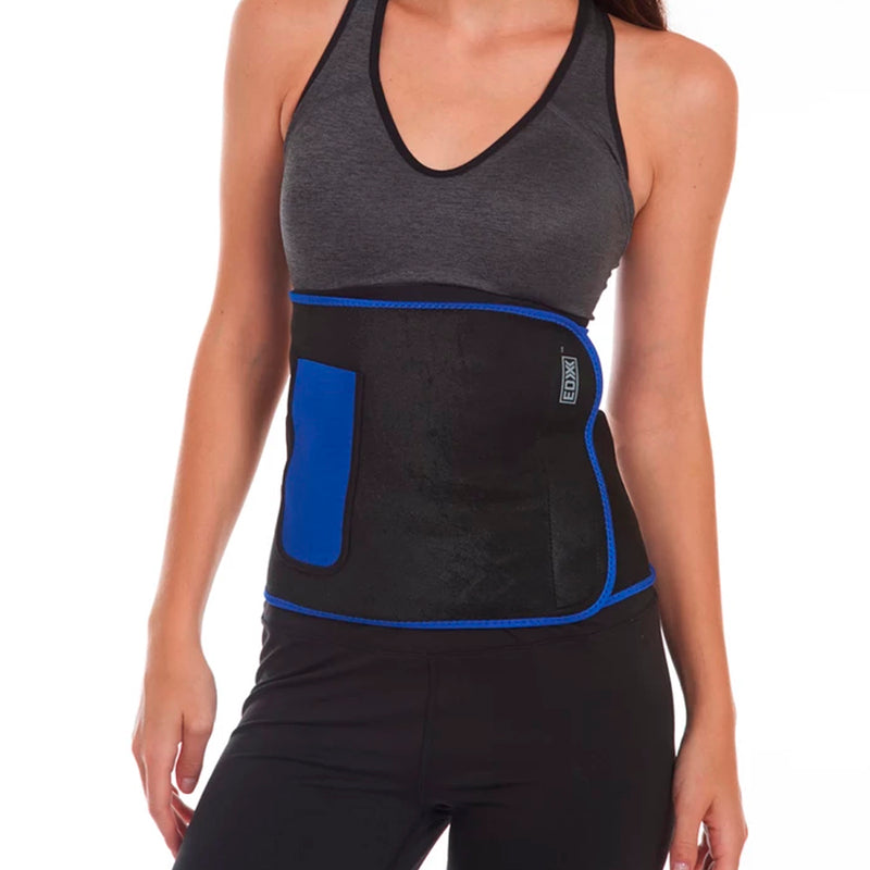 EDX - Neoprene Fitness Belt - Blue