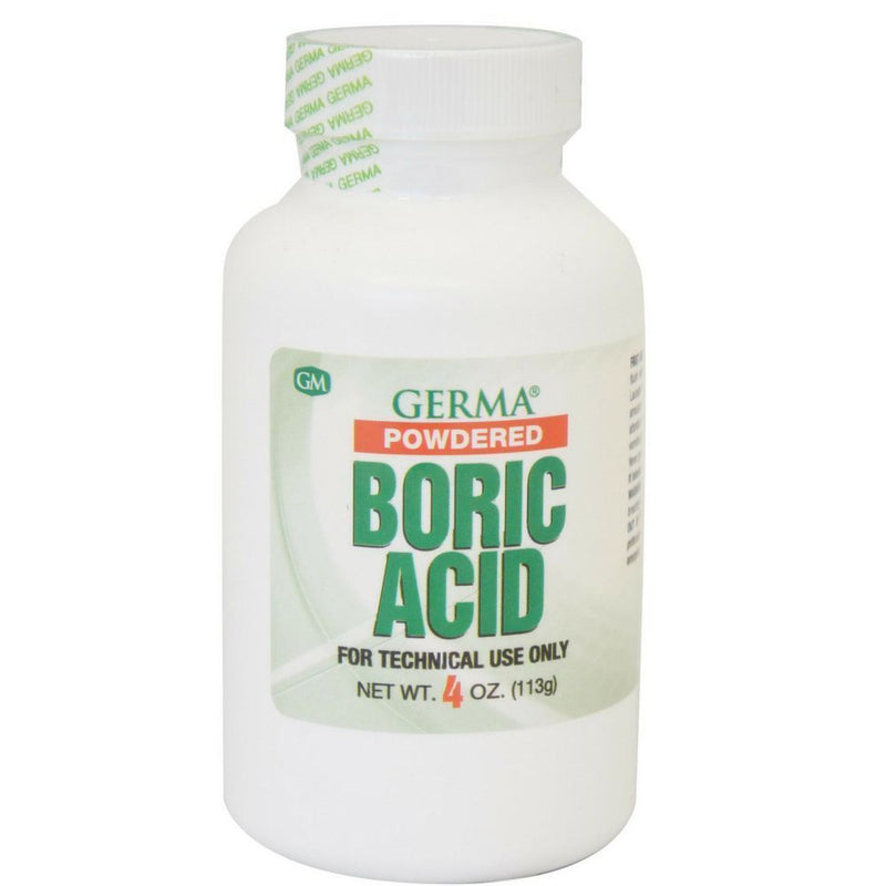 Germa Boric Acid Powder / Polvo de Ácido Bórico 4 Oz