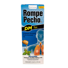 ROMPE PECHO DM COUGH SYRUP 6 FO