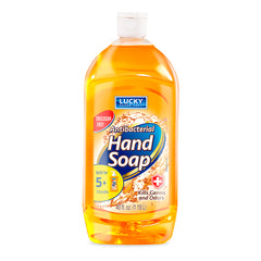 Lucky Super Soft Soap Refill - Antibac Gold40 Fl.Oz.