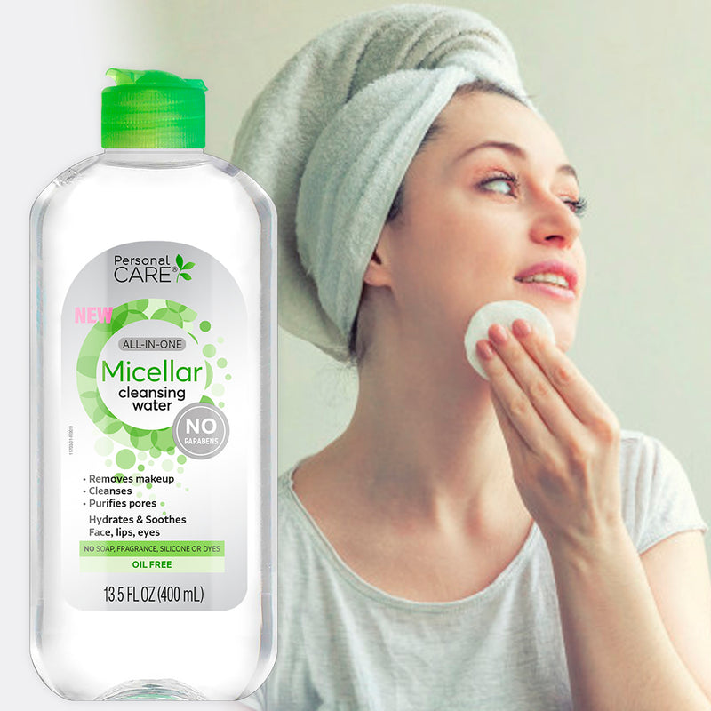Personal Care Micellar Cleansing Water 13.5 Fl Oz.