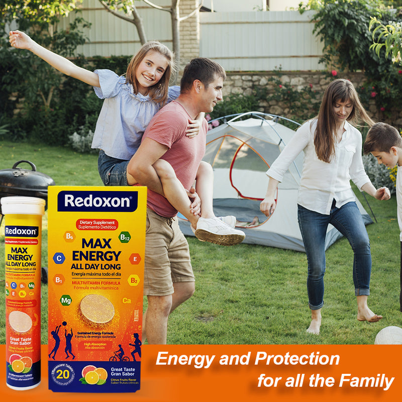 Redoxon Max Energy Multivitamin 20 CT