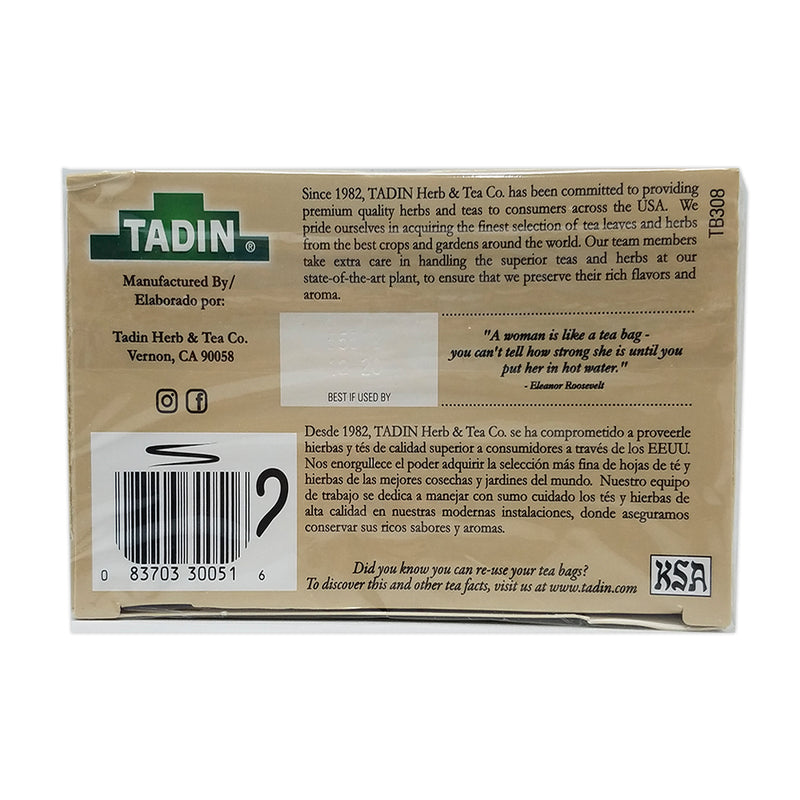 Tadin Tea Green Tea 24 Bags.