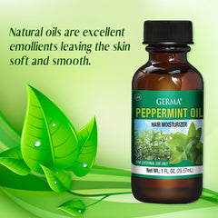 Germa Peppermint Oil, For Relaxation/Aceite de Menta, Para Relajacion 1 Oz