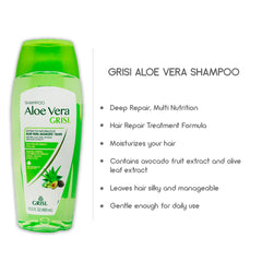 Grisi Aloe Vera Deep Repair Shampoo 13.5 Fl Oz (400 mL)