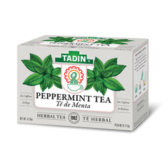 Tadin Tea Menta / Peppermint. 24 Bags. 0.85 Oz