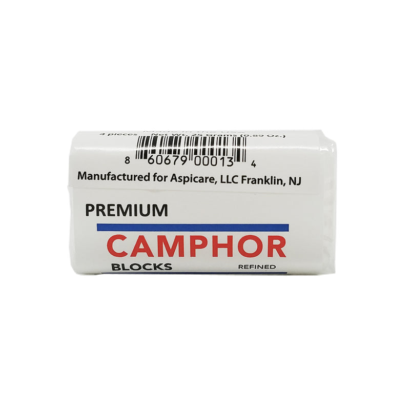 Aspi-Care Camphor Block 4 Pieces / Blocks