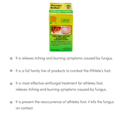 Hongo Killer Antifungal Solution 1 Oz / 30 mL.