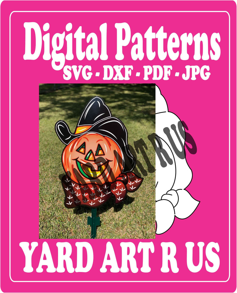 Digital Cut File for Cowboy Hat  Yard Art