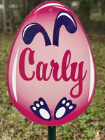 Easter Yard Art-Easter eggs personalized