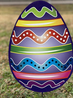 Easter yard art