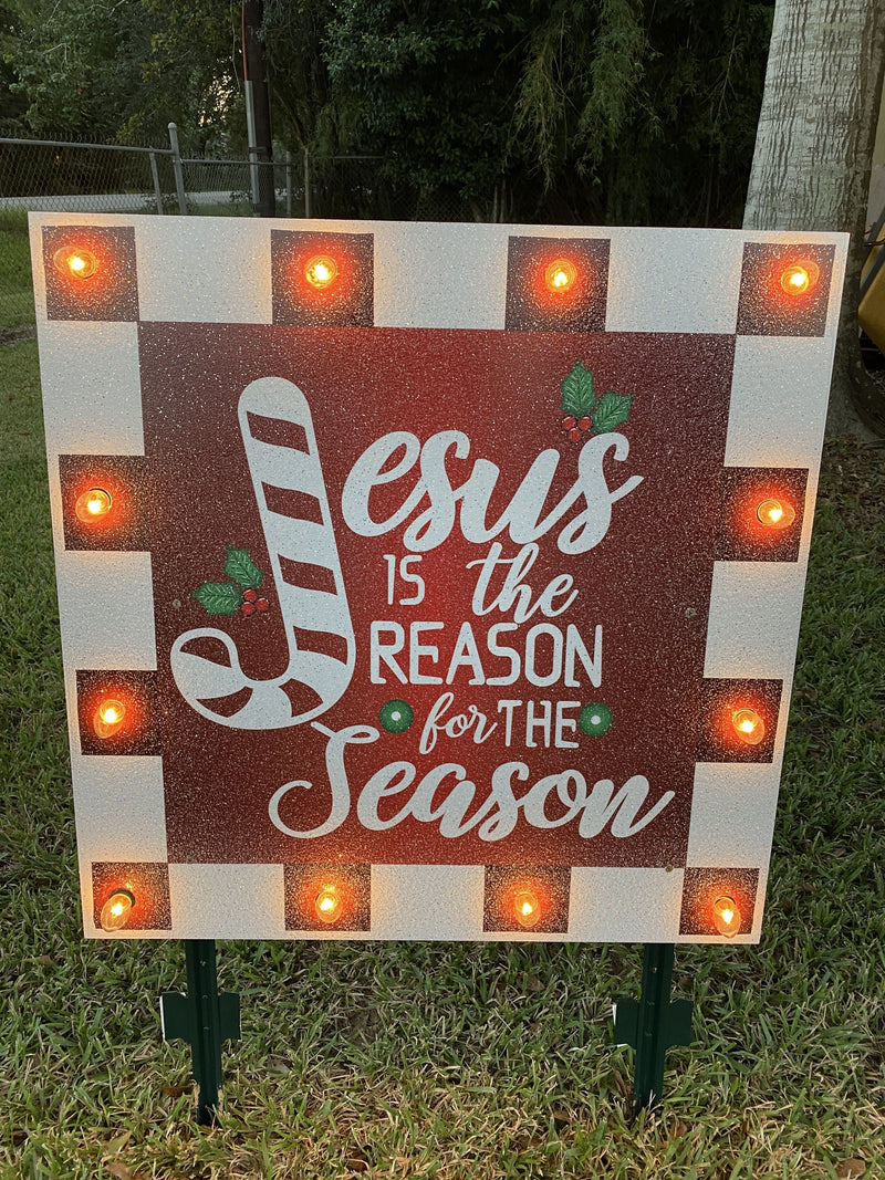 Christmas Yard Art