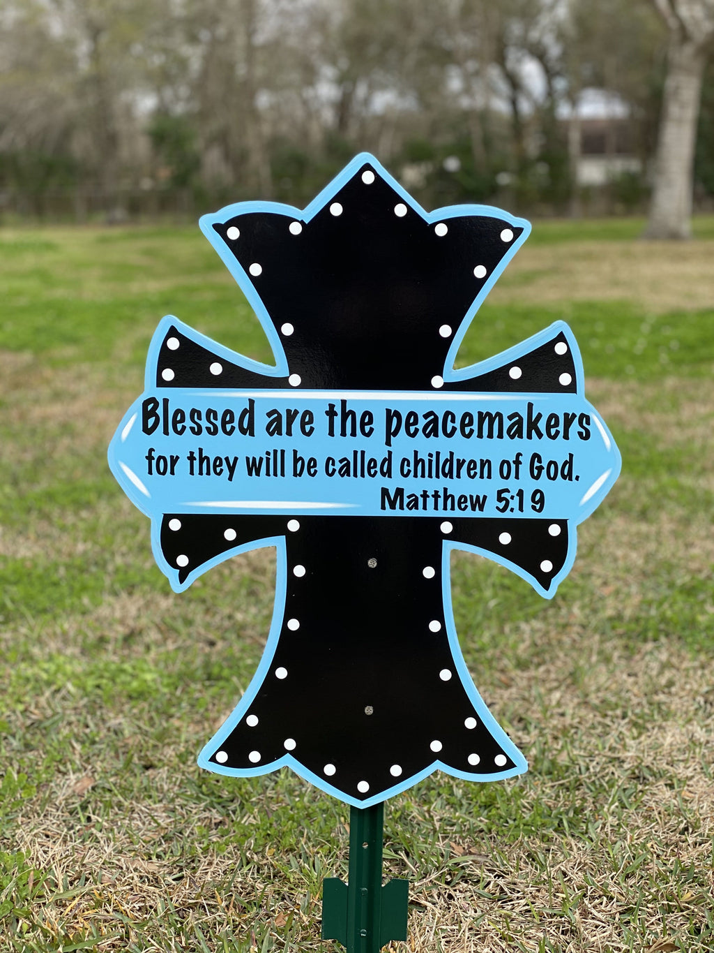 Peacemakers cross
