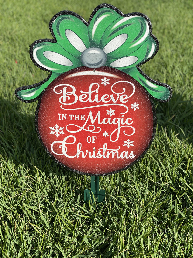 Believe in the Magic of Christmas Ornament-15""