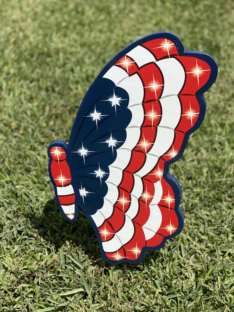 patriotic butterfly