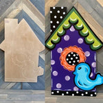 DIY Birdhouse yard project