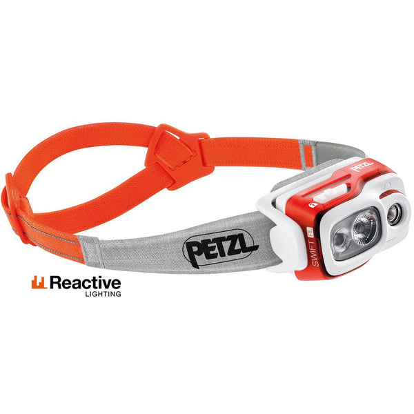 Čelna svetilka Petzl Swift RL (Orange)