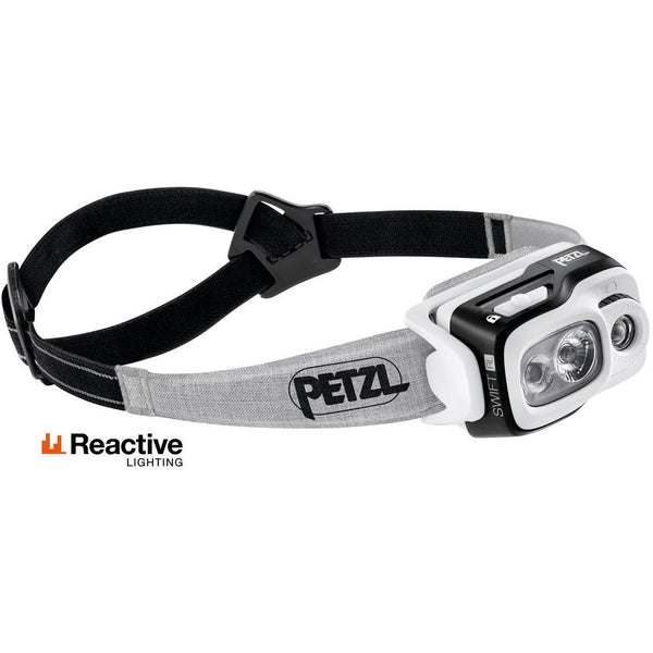Čelna svetilka Petzl Swift RL (Black)