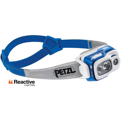Čelna svetilka Petzl Swift RL (Blue)