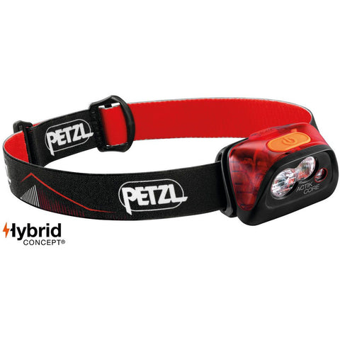 Čelna svetilka Petzl Actik Core Headlamp (Red)